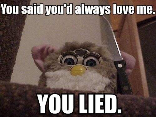 Creepy Furbies